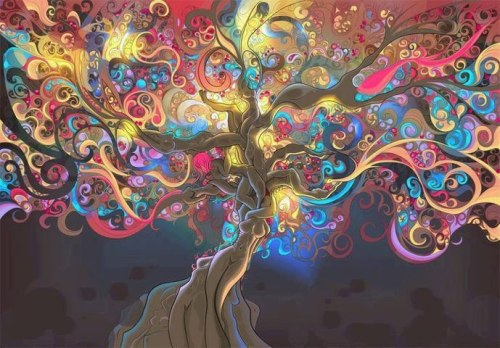 artsy tree