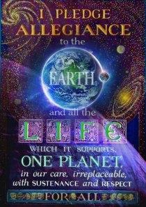 i pledge to the Earth
