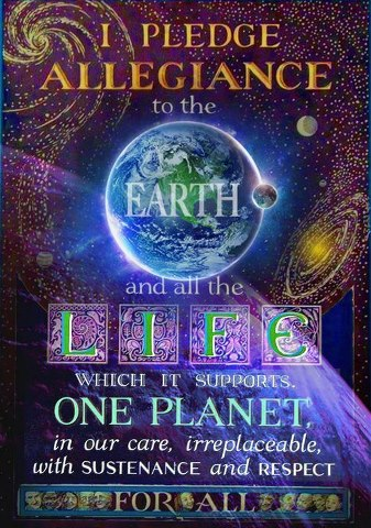 i pledge to the Earth