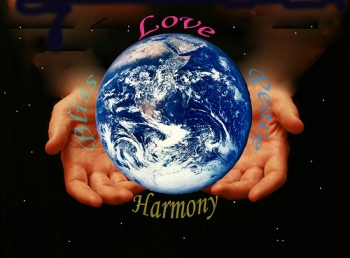 We intend to grow Love, Peace, Harmony, Together