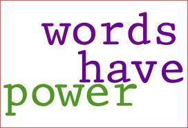 EMPOWER your words because words have power!