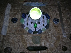Earth Day Crystal Grid * Green Healing Energy