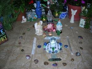 Earth Day Crystal Grid