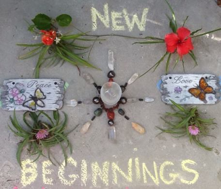 New Beginnings Crystal Grid Wendy Bee
