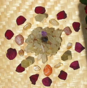 New Moon Solar Eclipse Crystal Reiki Grid For April 29, 2014 by Wendy Bee