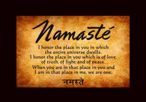 namaste we are one