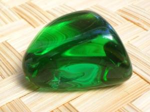 Isn't She a Beauty?!? Green Obisidian aka Gaia Stone aka Helenite